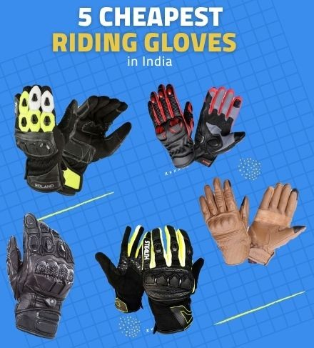 Cheapest 5 Leather Riding Gloves in India | Updated August 2020