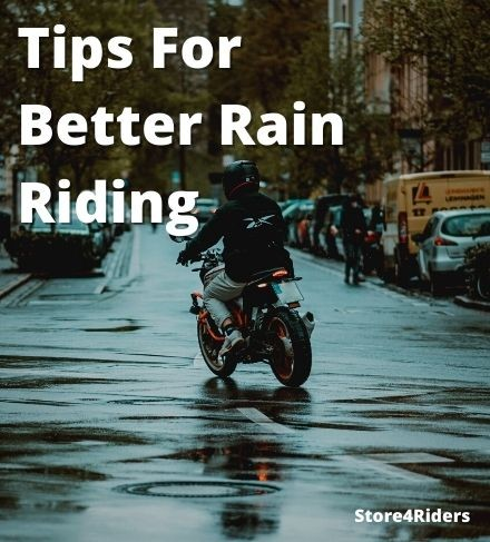 Top Tips for riding a motorcycle in rains