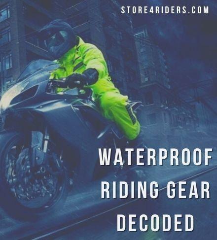 Waterproof Riding Gear – decoded