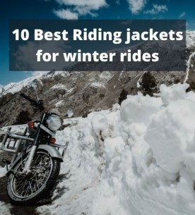 10 Best Riding jackets for winter rides