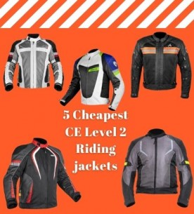 5 Cheapest CE Level 2 riding jackets