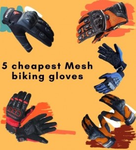 Top 5 Cheapest Mesh Motorcycle Gloves In India