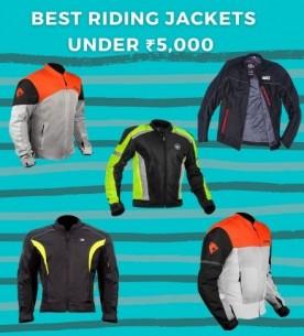5 best riding jackets under ₹5000/-