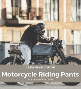 Motorcycle Riding Pants Cleaning Tips