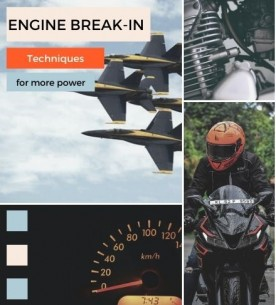 How to do Running in of a New Engine - for more performance