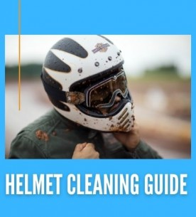How To Clean and Maintain your Motorcycle Helmet