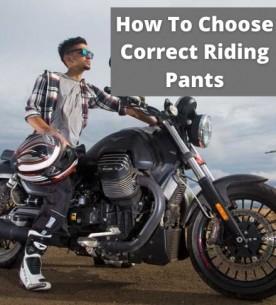 Choosing a right Riding Pant
