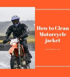 How do you wash a motorcycle jacket