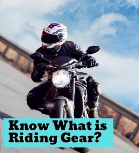 What is Riding Gear