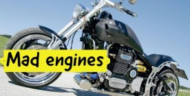 Motorcycles with Mad Engines