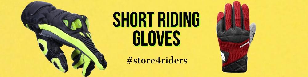 Short Motorbike Gloves