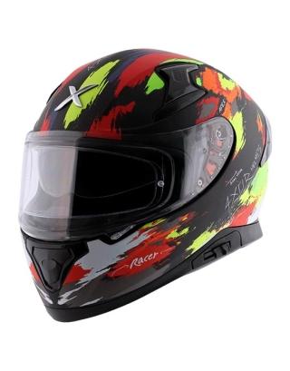 Axor Apex Racer Matt Helmet-Black/Yellow