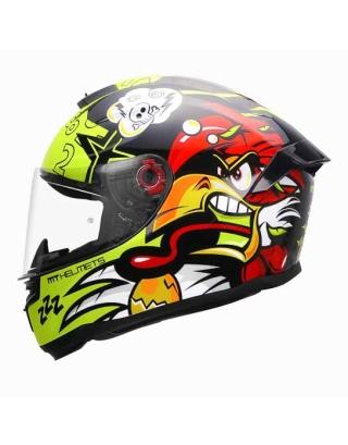 MT Hummer Braap Gloss Helmet-Black