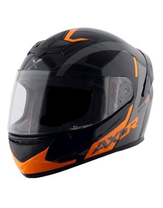 Axor Rage RTR Gloss Helmet-Black/Orange