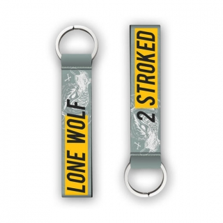 2 Stroked Key Chain for Bike