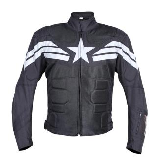 BB Captain Bike Riding Jacket-Black