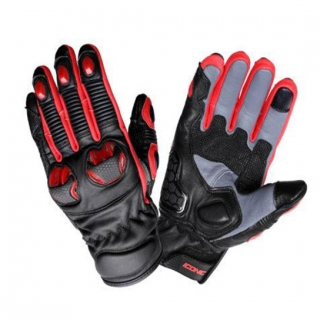 Snell Iconic by Biking Brotherhood Gloves-Black/Red