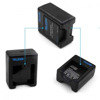 Dual Battery Charger For Yi Lite, Yi 4K, 4K+ Action Cameras