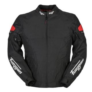Furygan Atom Waterproof Riding Jacket-Black/Red