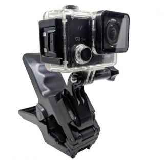 Jaw Clamp Mount for Action Camera