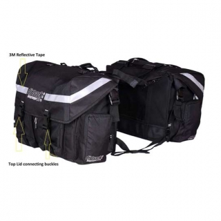 DirtSack Long Ranger Pro - Waterproof saddle bags for bikes