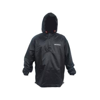 MotoTech Hurricane Rain Overjacket-Black/Orange