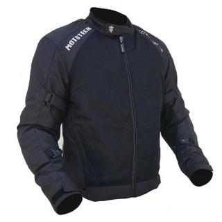 MotoTech Scrambler Air Motorcycle Riding Jacket v2-Black