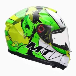 MT Hummer Melkor Gloss Helmet-Flu. Yellow