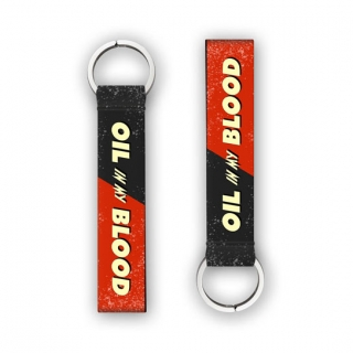 Oil & Blood Motorcycle Key Chain