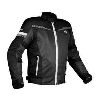 Rynox Air GT V3 Riding Jacket-Black/White