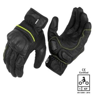Rynox Tornado Pro 3 Gloves - black / green