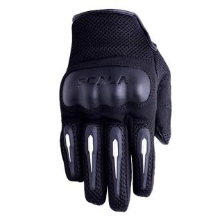 Scala Air Biker Gloves-Black