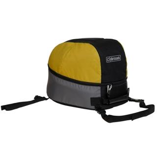 DirtSack ShellSack Helmet Bag for Enduro Helmets-Black/Yellow