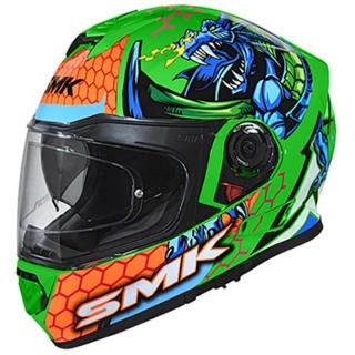 SMK Twister Dragon Gloss Helmet